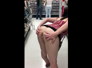 Public anal humiliation