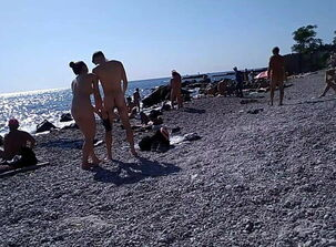 Fat nudist couples